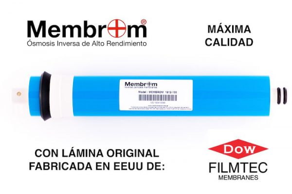 Membrana Osmosis Inversa 100 GPD