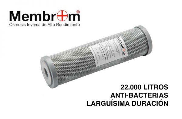 Filtro Antibacterias Carbon Activo