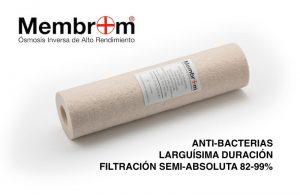 Filtros Sedimentos Antibacterias