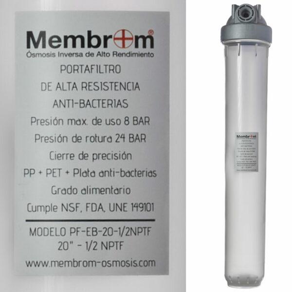 Filtro Anti Bacterias